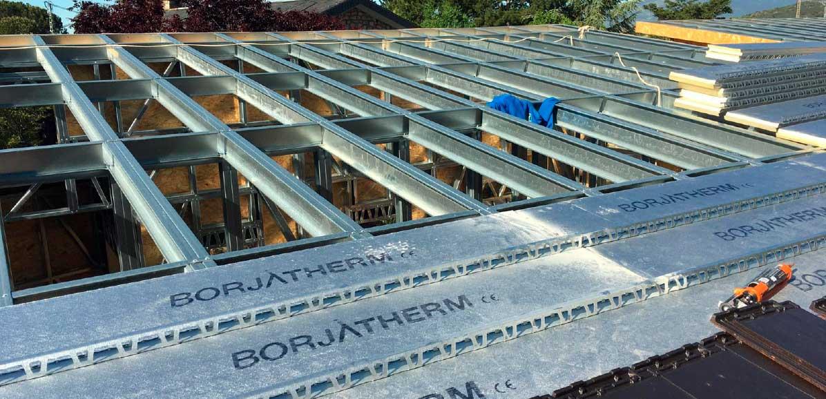 Vivienda unifamiliar prefabricada Steel Frame en Madrid