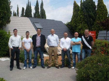 Visitas en Tejas Borja por parte de los almacenes y técnicos del sector