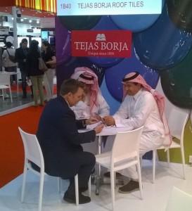 TEJAS BORJA en BIG 5 DUBAI 2015