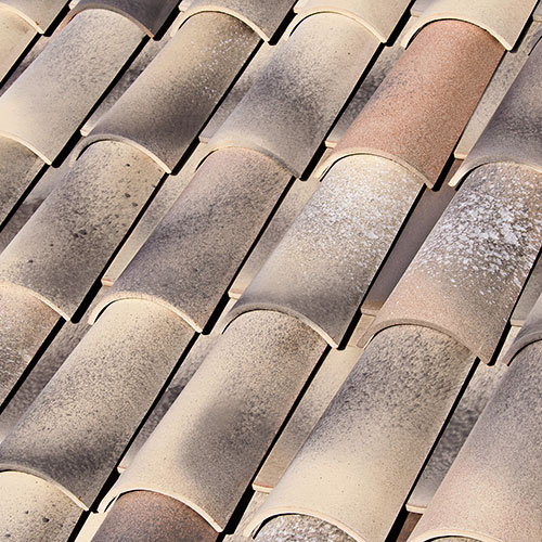 New: Celler® 50×21 Curved roof tile MONTSENY