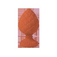 Pieza Decorativa 'C' Piña