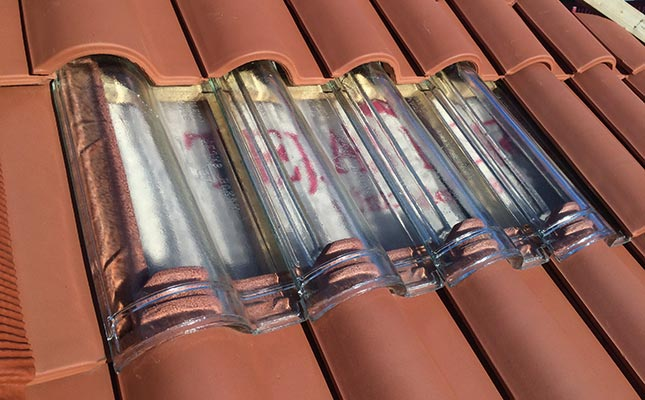 For Projects Which Is Intended To Take Advantage Of The Light Incident On  The Roof Have Two Models Made Of Glass Roof Tiles To Allow Illuminate The  Room ...