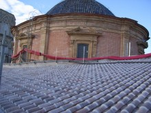 Réhabilitation du toiture de la Basilique Virgen de los Desamparados
