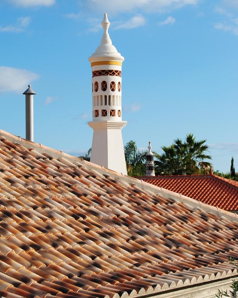 Viviendas de principio del siglo XX, típicas de Algarve (Portugal)