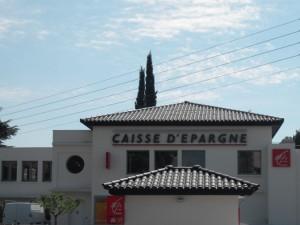 Casse d'epargne (Draguignane Dept. 83 - France)