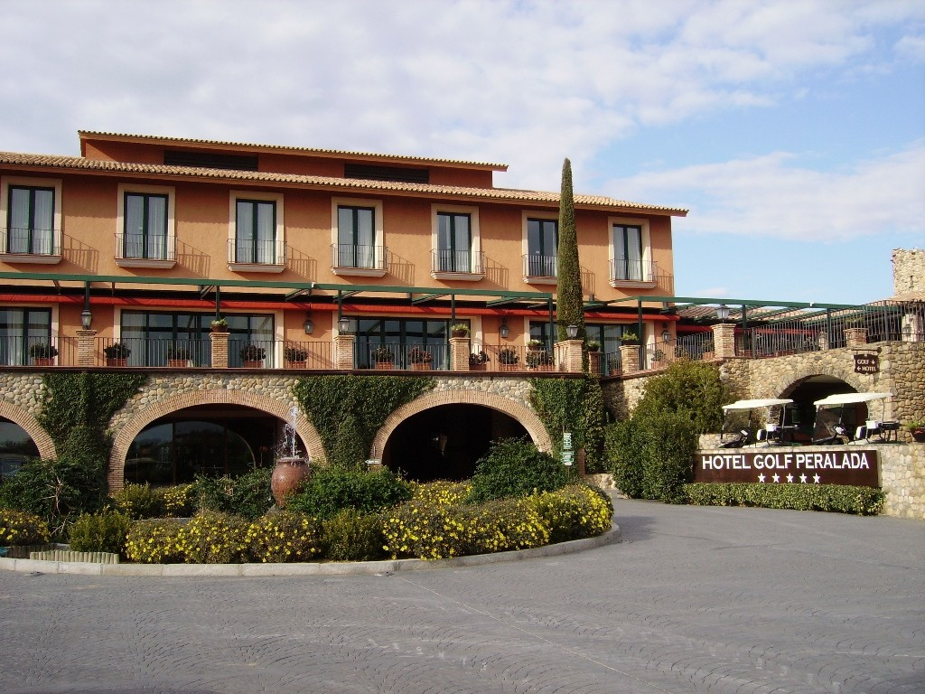 Hotel golf de Perelada (Girona, España)