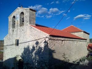Iglesia paroquial en Armallones (España)