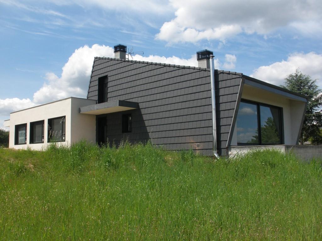 Vivienda unifamiliar – cubiertas y fachadas