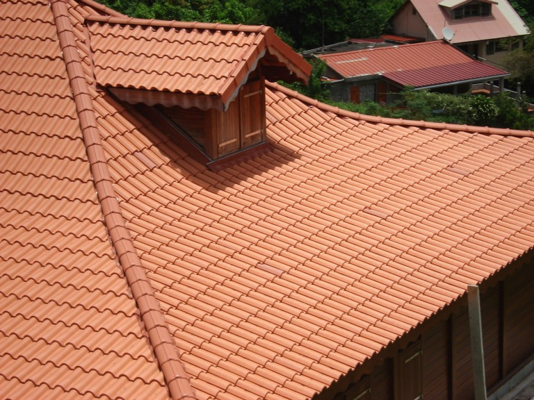 The ventilation of the roof