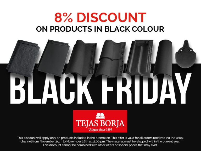 Black Friday arrives in Tejas Borja