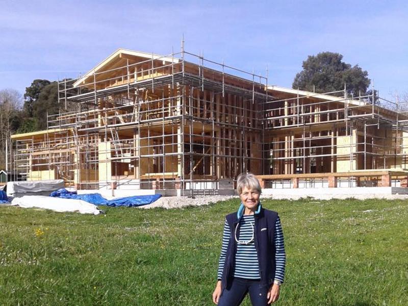 El hotel de madera biopasivo más grande de España