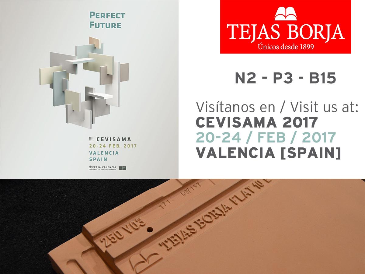 Tejas Borja estará presente en Cevisama 2017