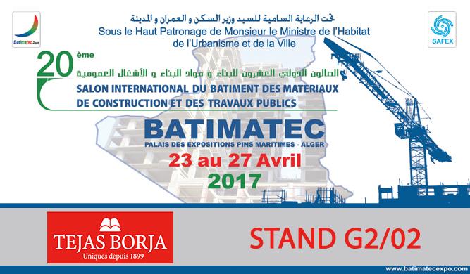 BATIMATEC 2017 TEJAS BORJA