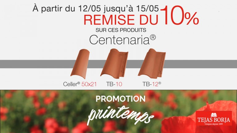 Promotion de Printemps 2017