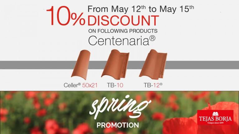 Spring Promotion 2017 Tejas Borja