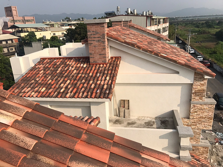 House S Interlocking Bidasoa Roof Tiles Tejas Borja