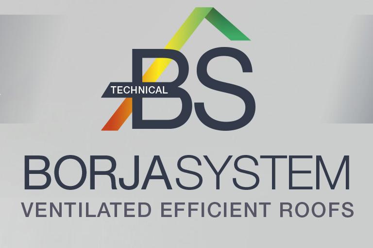 BORJASYSTEM Sistema de Instalación de Tejados Ventilados de Teja Curva