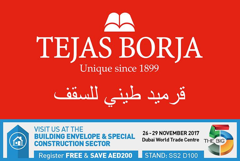 Tejas Borja en BIG 5 Dubai 2017