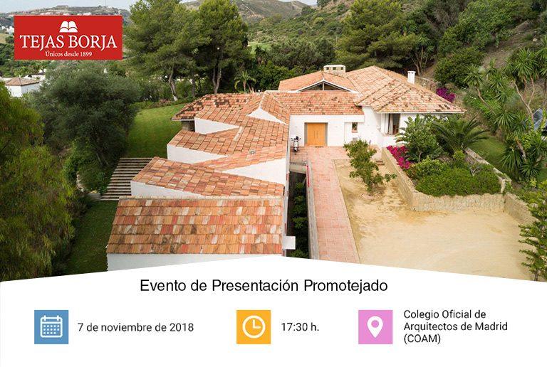 Presentación de Promotejado en Madrid