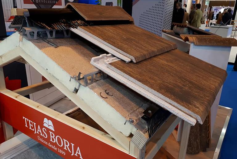 Tejas Borja | Construtec 2018