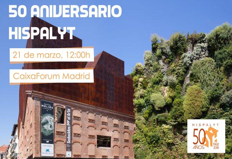 Evento Conmemoración 50 Aniversario Hispalyt
