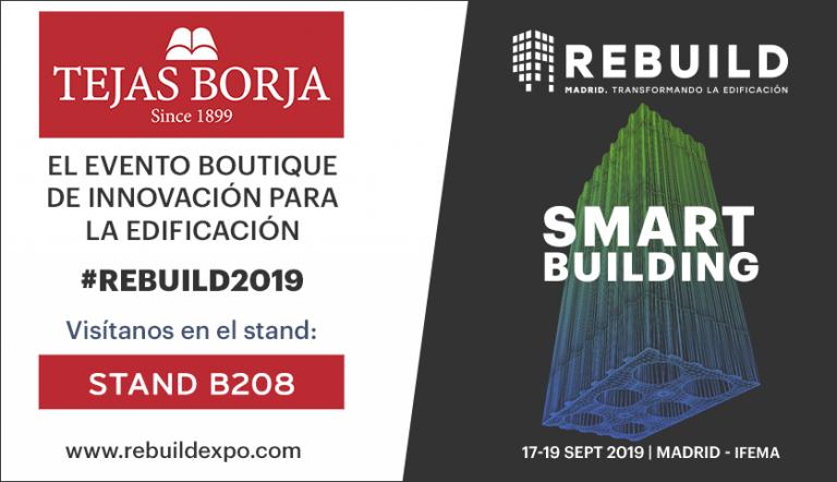 Tejas Borja en REBUILD 2019