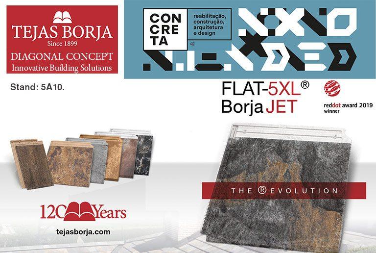 CONCRETA 2019 Tejas Borja