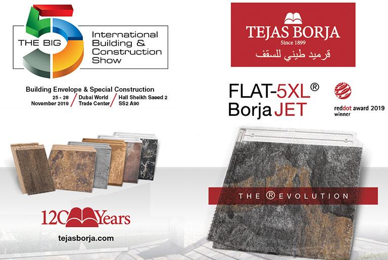 Tejas Borja sera présente au Big 5 Dubaï 2019