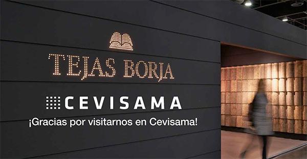 Tejas Borja en CEVISAMA 2020