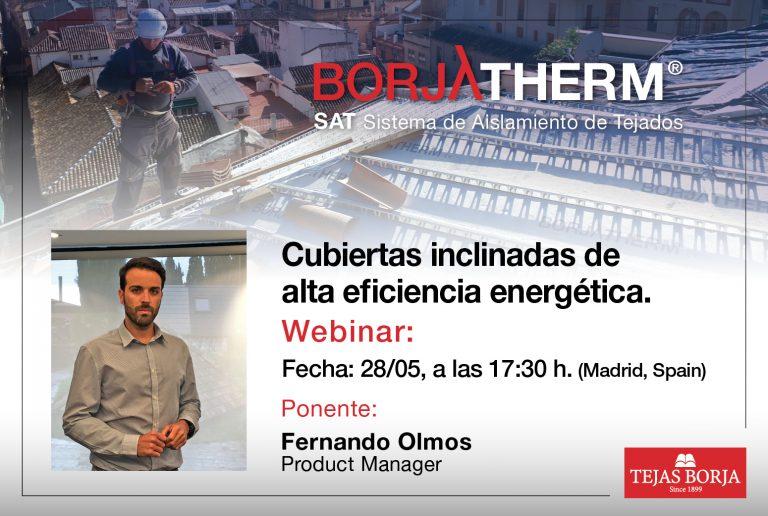 Webinar: BORJATHERM – Cubiertas inclinadas de alta eficiencia energética
