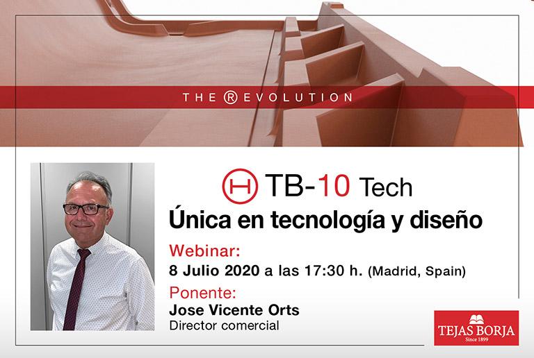 Webinar: TB-10 TECH, ÚNICA EN TECNOLOGÍA Y DISEÑO